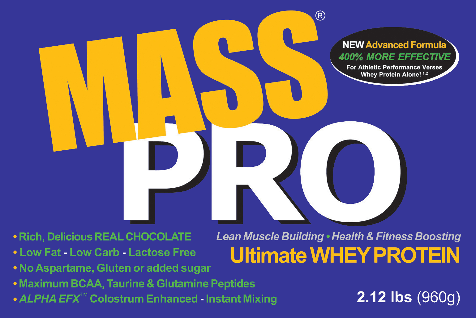 muscle building whey protein